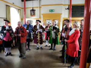 town criers reception